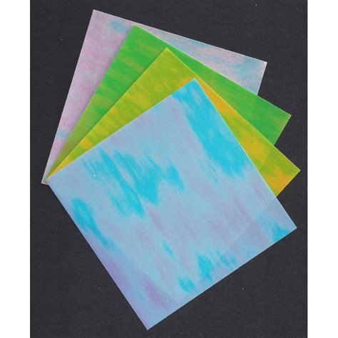 White Origami Paper Bulk - 150 mm 8 sh pearlescent origami paper bulk