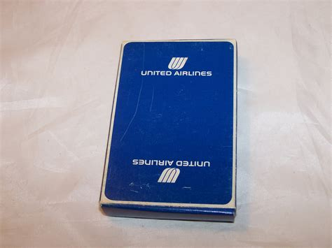 playing cards united airlines vintage new orig pkg - United Airlines Gift Card