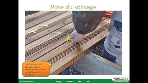 comment poser une terrasse en bois 4357 piveteau bois terrasse poser votre terrasse bois sur