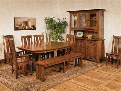 sitka craftsman dining room set countryside amish furniture