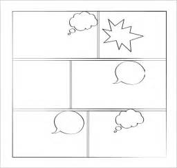 blank comic template sle comic book 6 documents in pdf psd
