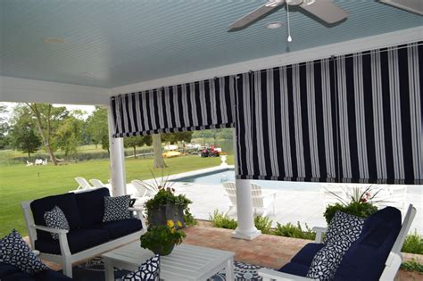 Roll Up Porch Curtains Canvas Porch Roller Curtains Roll Up Blinds 2017 Grasscloth Wallpaper Patio Curtains Aaa