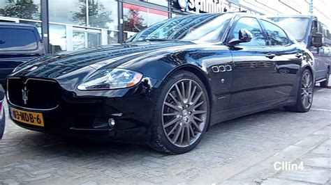 maserati quattroporte 2003 maserati quattroporte gts rev and acceleration wheelspin