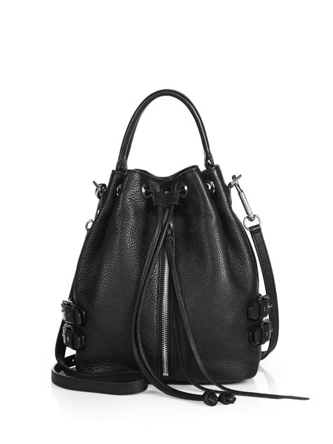 minkoff moto bag in black lyst