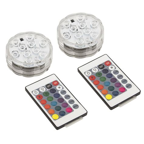 battery color led rgb colour changing lighting disk t light battery