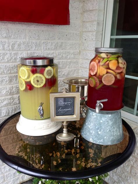graduation tea themes awesome drinks for an outdoor graduation party