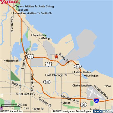 east chicago indiana map | giperkub.com