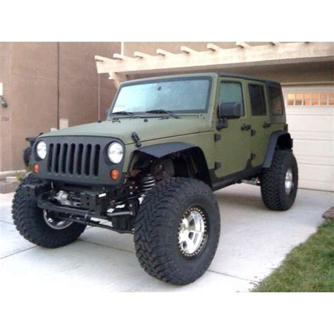 matte olive jeep love the flat green on black jeep wrangler unlimited