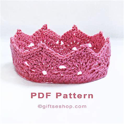 crochet crown pattern  princess crown – princess tiara