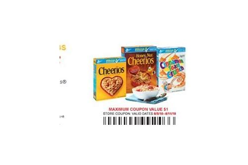 coupon general mills cereal
