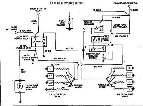 peugeot expert glow relay location wiring diagrams