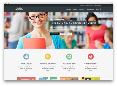 Top Ten Wordpress Themes For Education Websites Web Hosting Blog By Milesweb Web Template System