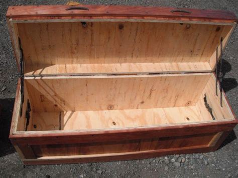 wooden plywood tool box  plans