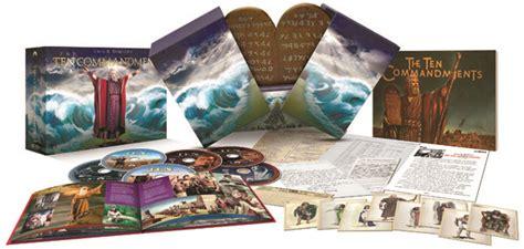 The Ten Commandments Gift Set quot the ten commandments quot epic 6 disc gift set free idol chatter