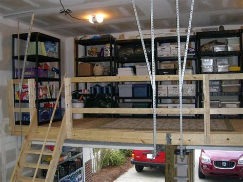 building a loft in garage ballantyne garage solutions charlotte nc garage
