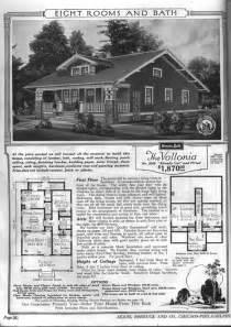 1900 Sears House Plans 1900 Bungalow House Plans American Bungalow Style Home Plans 171 Floor Plans 1900