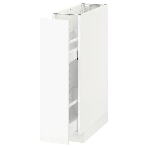 ikea kitchen pull out metod base cabinet pull out int fittings white h 228 ggeby