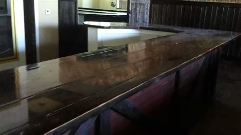 wood bar tops for sale huge wood bar top for sale youtube