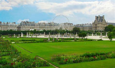 giardini parigi il giardino delle tuileries il pi 249 grande e antico di parigi
