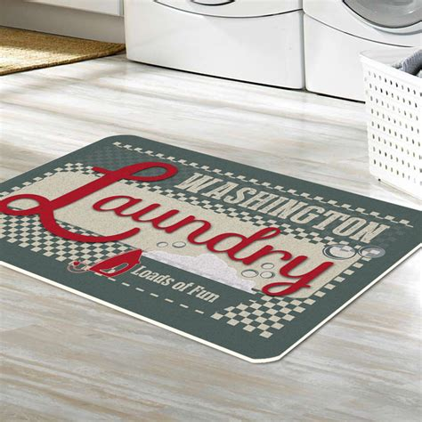 personalized laundry personalized home loads of laundry floor mat shop now