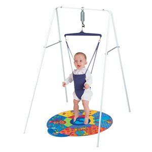 jolly jumper baby exerciser with stand gift set co