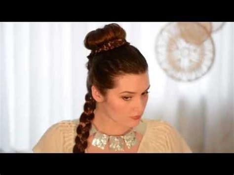 princess leia makeup  hair transformation youtube
