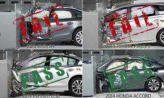Subaru Safety Ratings Iihs Honda And Subaru Come Out As Safest Cars In New