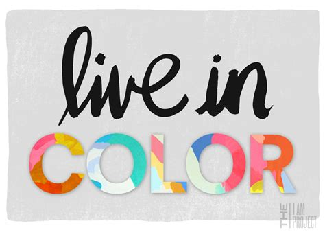 livid color because it s awesome the i am project live in color