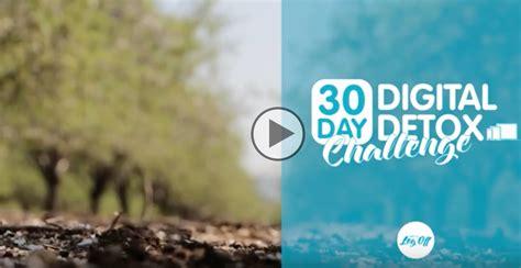 30 Day Digital Detox by Day 14 30 Day Digital Detox Challenge Digital Detox