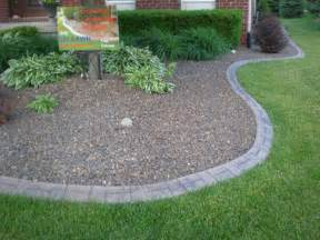 Landscape Decorative Edging Custom Lawn Edging 545 Lawn Care Inc