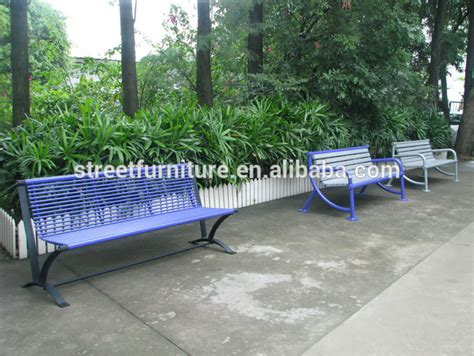 park bench for sale hot sale durable metal park bench for sale used park