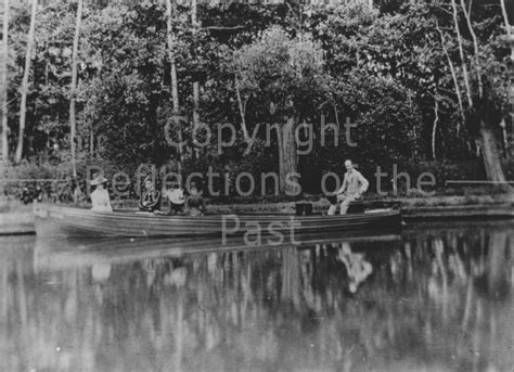 electric boat landing electric boat view photo waltham abbey reflections