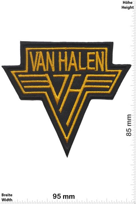 Cutting Sticker Band Halen halen patches back patch patch sleutelhangers stickers giga patch grootste patch