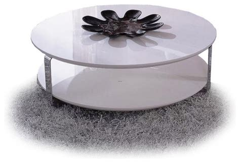 modern white lacquer coffee table ono design