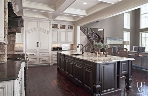 gourmet kitchen island high end gourmet kitchen design