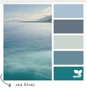calming color schemes soothing sea blue wordless wednesday coastal decor color