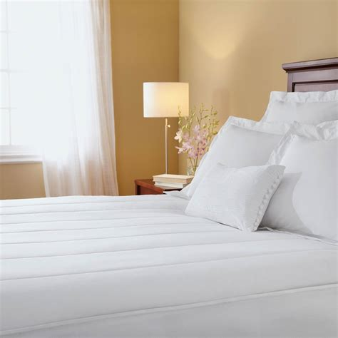 Sunbeam Vertical Quilted Heated Mattress Pad sunbeam vertical quilted heated mattress pad mattress