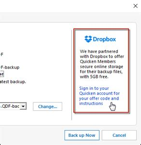 dropbox quicken how to redeem your free 5gb dropbox offer