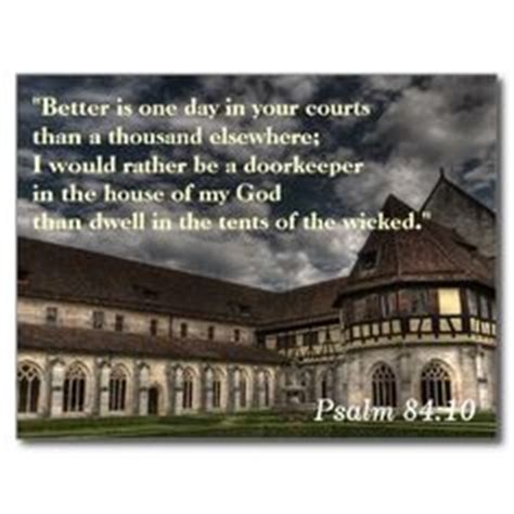 better is one day in your house scripture memory cards on pinterest scriptures postcards and memories