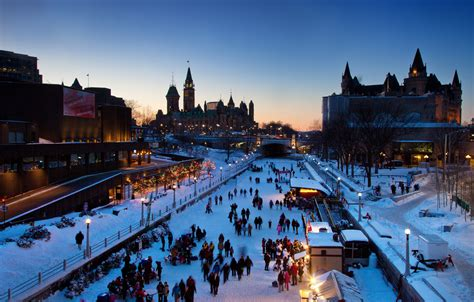 Canal Rideau Patinage by Ottawa Canada A Beautiful City In All Seasons