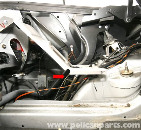 mercedes benz slk 230 trunk lock cylinder repair 1998 2004 pelican parts diy maintenance article mercedes benz slk 230 trunk latch removal 1998 2004 pelican parts diy maintenance article