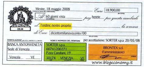 cambiale domiciliata in bollettino postale come si compila modello f compilabile