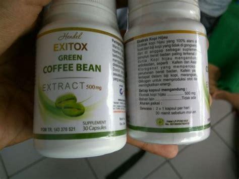Green Coffee Bean Asli Hendel efek sing hendel exitox green coffee bean anda wajib tahu