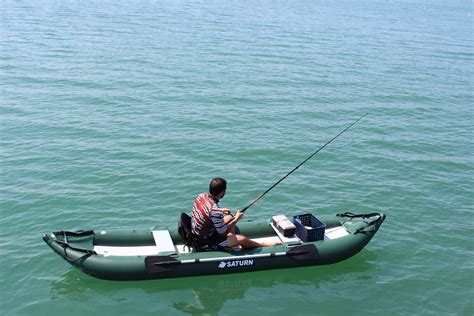 inflatable ocean fishing boats saturn ocean pro angler inflatable fishing kayaks