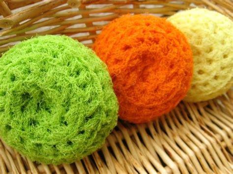 knitted scrubbies netting nifty crocheted net scrubbies crochet and yarn