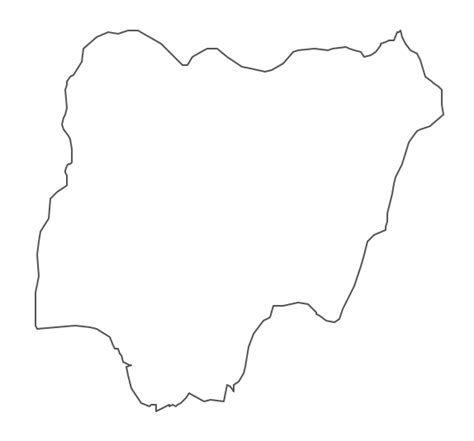 How To Draw The Map Of Nigeria geo map africa nigeria