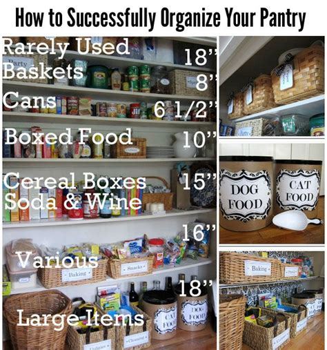 how to organize your pantry lets organize