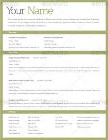 example of a work resume