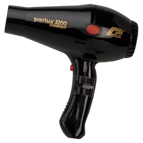 Hallmark Mini Hair Dryer parlux 3200 compact black free shipping lookfantastic