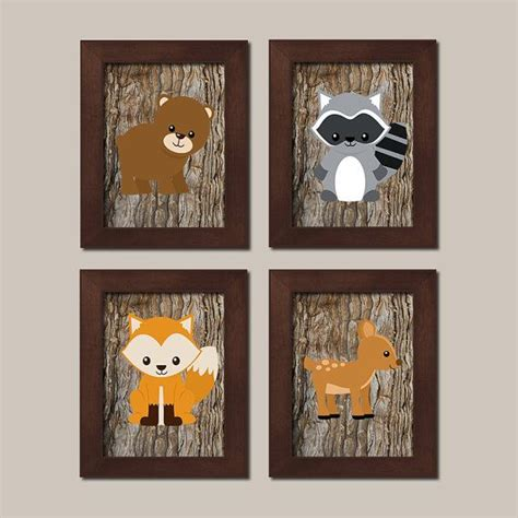 Woodland Decor Nursery Woodland Nursery Decor Woodland Woodland Decor Nursery